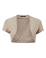 Montique Lace Bolero Jacket