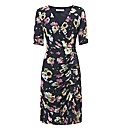 Gina Bacconi Floral Chiffon Dress