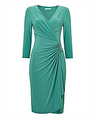 Gina Bacconi Jersey Wrap Dress