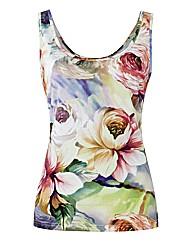 Murek Floral Jersey Top