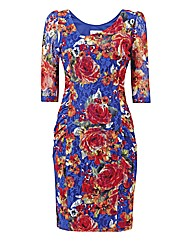 Joseph Ribkoff Floral Lace Dress