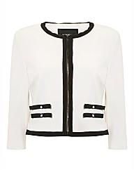 Nissa Contrast Jersey Jacket