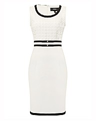 Nissa Contrast Jersey Dress