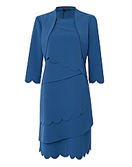 James Lakeland Tiered Shift Dress
