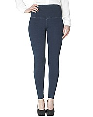 Lysse Tummy Control Denim Look Leggings