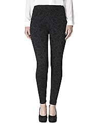 Lysse Flocked Tummy Control Leggings