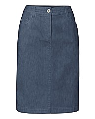 Michele Four Pocket Denim Skirt