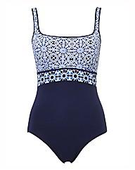 Gottex Mosaic-print Swimsuit