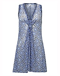 Gottex Mosaic-print Beach Dress