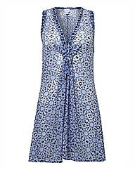 Gottex Mosaic-print Beach Dress