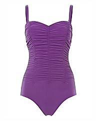Anita Ruched Bandeau Swimsuit
