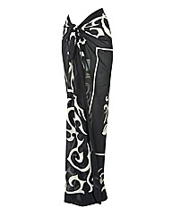 Palm Beach Printed Georgette Pareo