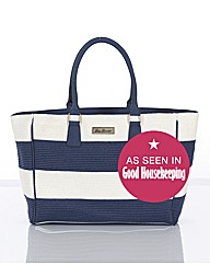 Pia Rossini Woven Stripe Bag