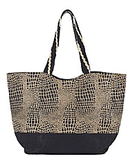 Pia Rossini Giraffe Jute Bag