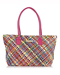 Pia Rossini Weave Tote Bag