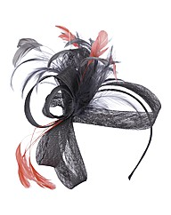 Coo Feather Fascinator