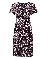 Gray & Osbourn Printed Jersey Dress