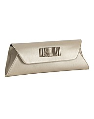HB Shoes Shimmer Leather Clutch Bag