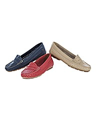 Riva Perforated Loafers