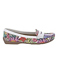 Capollini Floral Loafers
