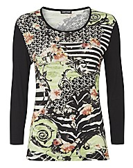 Gerry Weber Print Mix Top