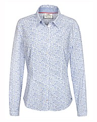 Betty Barclay Leaf Print Shirt
