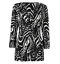 Gerry Weber Crinkle-pleated Satin Tunic