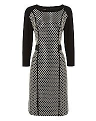 Gerry Weber Geometric Jacquard Dress