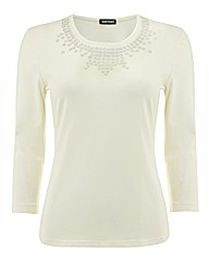 Gerry Weber Sequinned Jersey Top