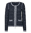 Gerry Weber Stripe- Knit Jacket