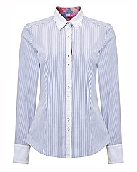 Basler Stripe Cotton Shirt