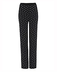 Olsen Anchor Print Trousers