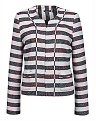Olsen Textured Stripe Jacket