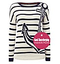 Olsen Anchor Cotton-blend Jumper