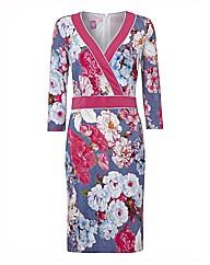 Basler Floral Jersey Dress