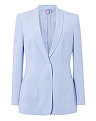 Basler Tailored Crepe Jersey Jacket