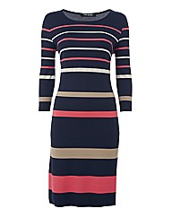 Betty Barclay Stripe Jersey-knit Dress