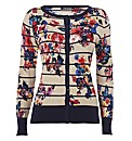 Betty Barclay Floral-Print Cardigan