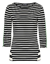 Betty Barclay Stripe Jersey Top