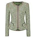 Gelco Tweed Zip Jacket