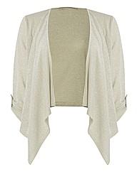 Passport Shimmer-knit Cardigan