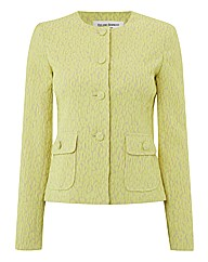 Helene Berman Textured Jacquard Jacket