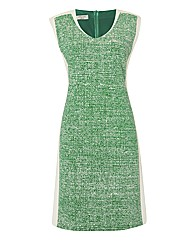 Apanage Tweed-print Dress