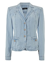 Apanage Washed Denim-look Jacket