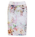 Apanage Watercolour Sateen Skirt