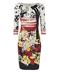 Apanage Printed Jersey Dress