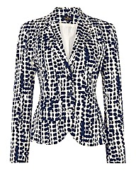 Eugen Klein Printed Cotton Sateen Jacket