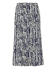 Eugen Klein Spot-print Panelled Skirt