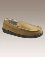 Free-Step Mens Warmlined Slippers