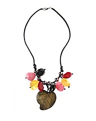 Fresh Cargo Fruits Row Necklace